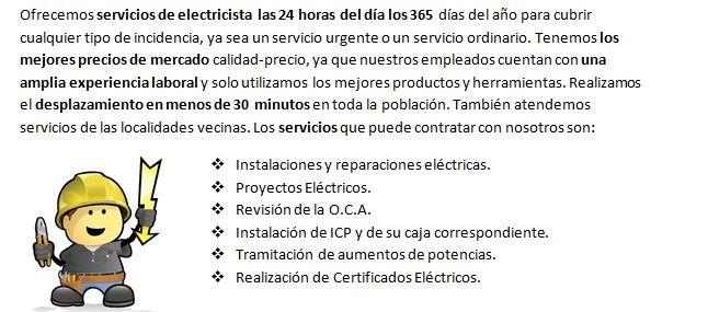 Electricistas Peñaflor de Gállego Urgentes