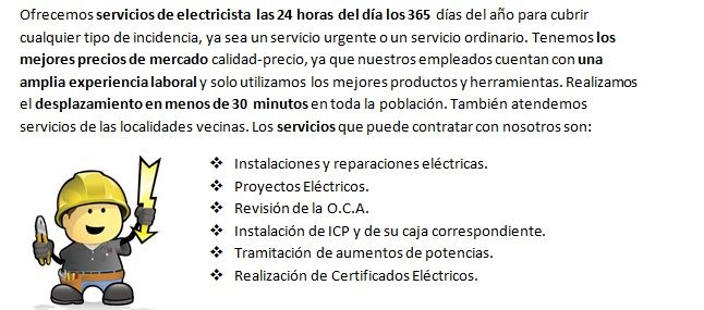 Electricistas Leciñena Económicos